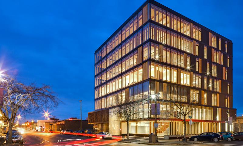 加拿大木材创新设计中心